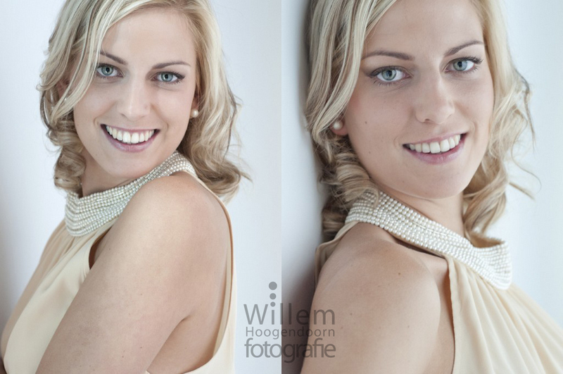 glamourfotografie en make over metamorfose door Willem Hoogendoorn Fotografie Woerden