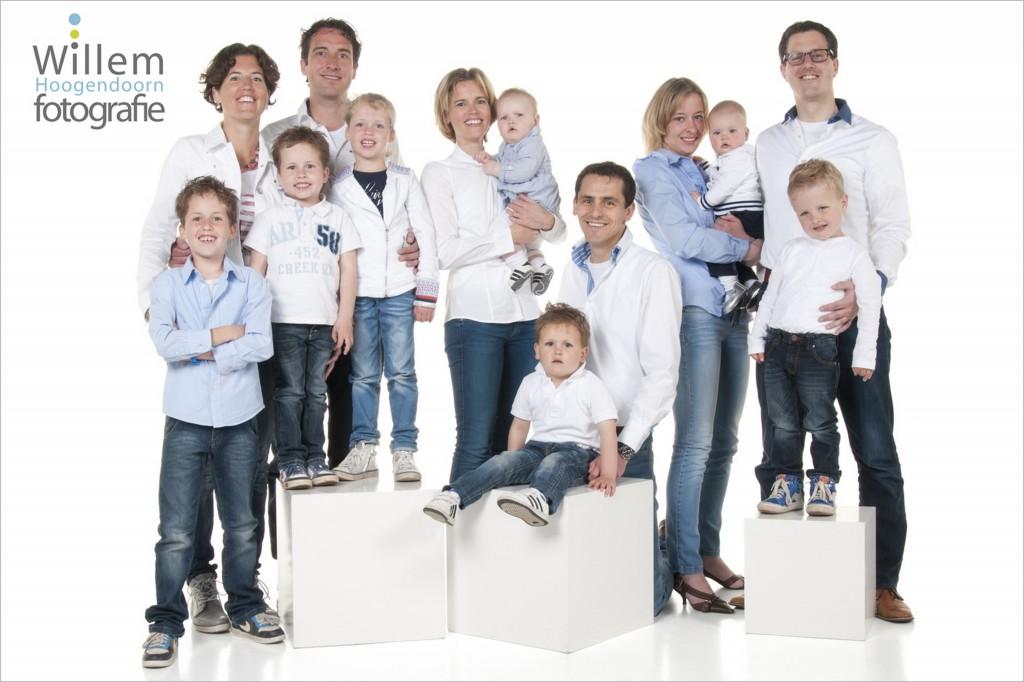 familiefotografie jubileum fotoshoot familie Willem Hoogendoorn Fotografie