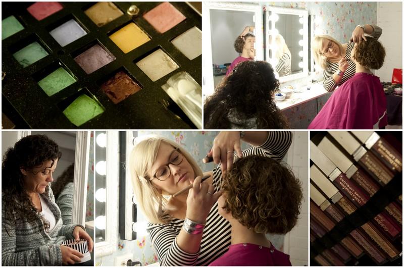 glamourfotografie makeover visagy en hairstyling bij Willem Hoogendoorn Fotografie Woerden