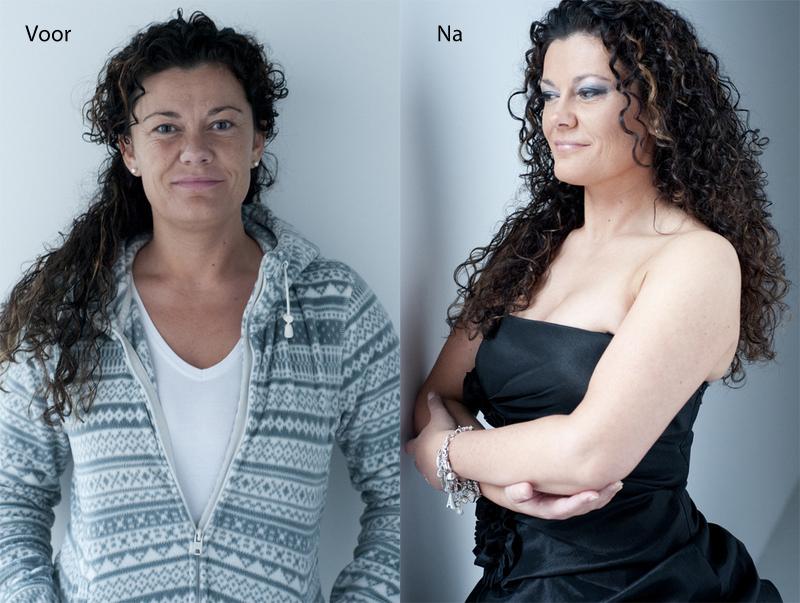 glamourfotografie inclusief hairstyling en visagie bij Willem Hoogendoorn Fotografie Woerden