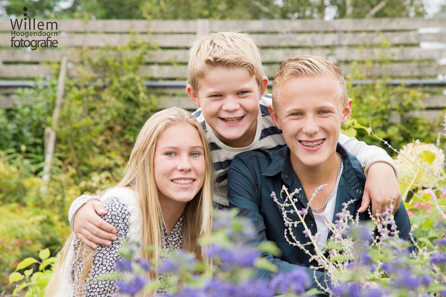 kinderfotografie familiefotografie broers zusje door Willem Hoogendoorn Fotografie Woerden